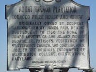 Mount Harmon History Plaque