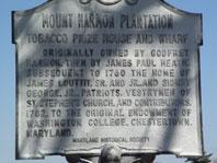 Mount Harmon History Plaque